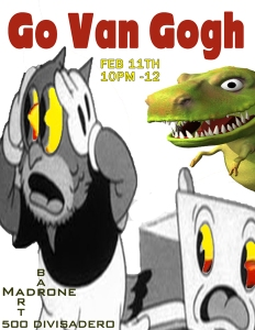 oh my GVG at Madrone Art Bar 2/11/2015